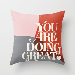 Affirmation No. 1 Throw Pillow