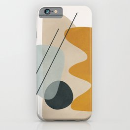 Abstract Shapes No.27 iPhone Case