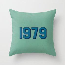 1979 Throw Pillow