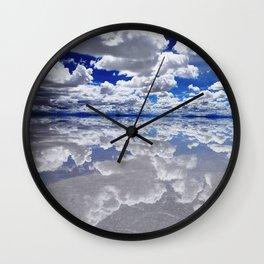 Salar de Uyuni, Bolivia Wall Clock