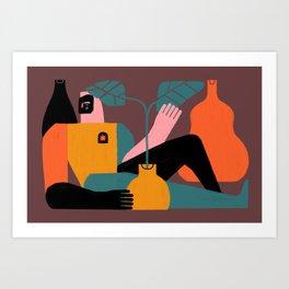 Solitud Art Print