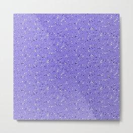 Lilac rubber flooring Metal Print