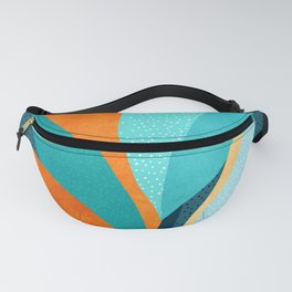 Abstract Tropical Foliage Fanny Pack