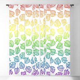 animal crossing villager nook shirt pattern gay pride Blackout Curtain