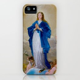 """Francisco Goya """"The Immaculate Conception"""" iPhone Case"""