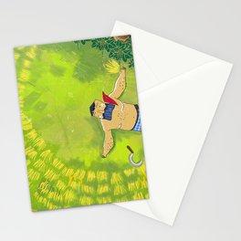 Gamarala - The Sri Lankan Farmer Stationery Cards