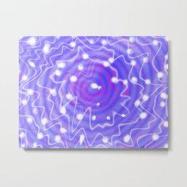Tie Dye - the Purple Galaxy Metal Print