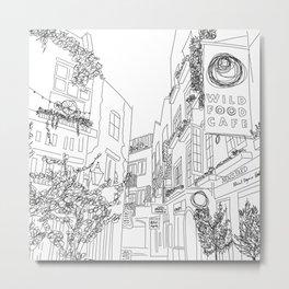 Neal's Yard in London, U.K. Metal Print