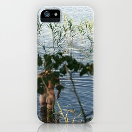 One, Two, Three iPhone Case
