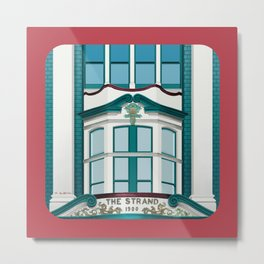 The Strand Building Metal Print