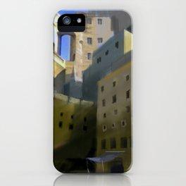 Mediterranean Town iPhone Case