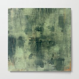 tex mix green Metal Print