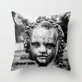 Garden Squire Throw Pillow