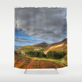 Nant Gwrtheyrn Shower Curtain