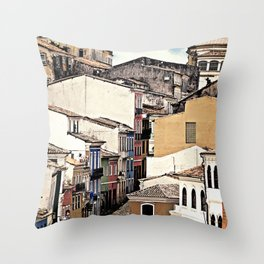 layers {zoom Throw Pillow