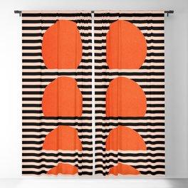 Abstraction_SUNSET_LINE_ART_Minimalism_001 Blackout Curtain