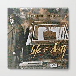 Life after Death album Metal Print