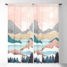 Lake Sunrise Blackout Curtain