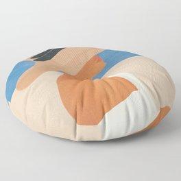 Summer Hat Floor Pillow