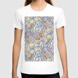 William Morris Golden Lily Victorian Wallpaper T-shirt