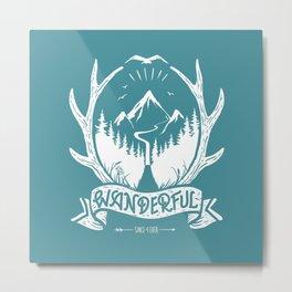 wanderful! Metal Print