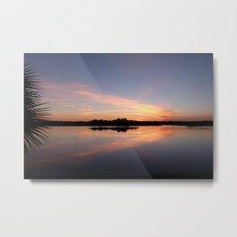 North Florida Sunset Metal Print