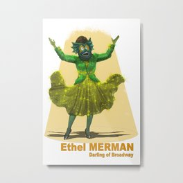 Ethel Merman Metal Print