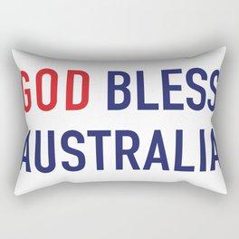 God Bless Australia Rectangular Pillow