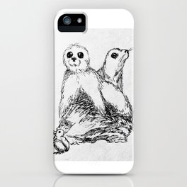 Cozy Seal Babies iPhone Case