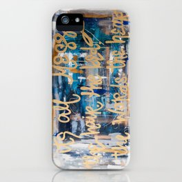 Messy Hair iPhone Case