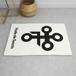 Alchemy Symbol Huile de Succin Rug