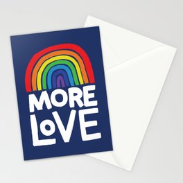 more love Stationery Cards