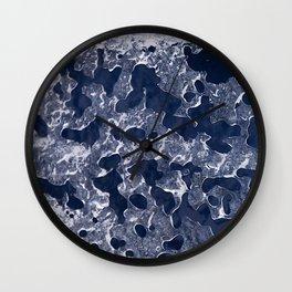 The ice Wall Clock