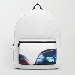 Going up - Goggles reflecting gondola Backpack