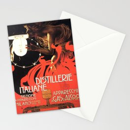 Vintage poster - Distillerie Italiane Stationery Cards