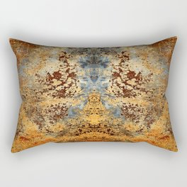 Beautiful Rust Rectangular Pillow