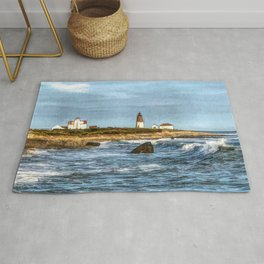 Soothing Ocean Sounds and Sights Rug