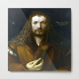 Albrecht Durer Self Portrait Metal Print