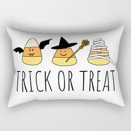 Cute Candy Corn Halloween Rectangular Pillow