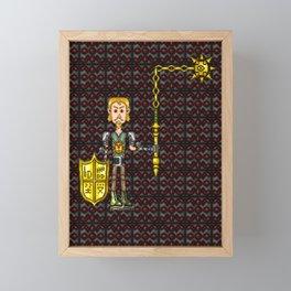 Ruiseart at 29 Years of Age Framed Mini Art Print