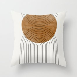 Abstract Flow Throw Pillow