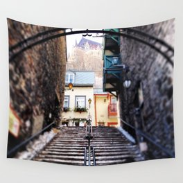Old Quebec City Wall Tapestry