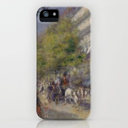 The Grands Boulevards iPhone Case