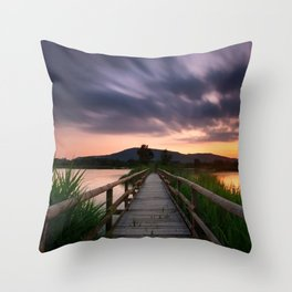 Escape II Throw Pillow
