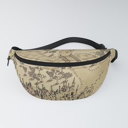 The Wizard world of Hogwarts Fanny Pack