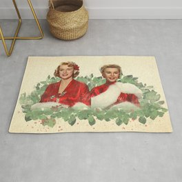 Sisters - A Merry White Christmas Rug