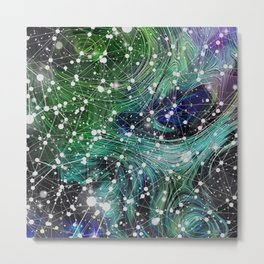 Сonstellation Metal Print