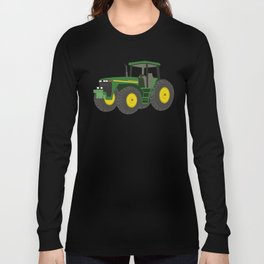 Green Farm Tractor Long Sleeve T-shirt