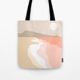 Minimal Seascape 2 - Coastal Art Tote Bag