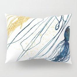 Metallic Jellyfish II Pillow Sham